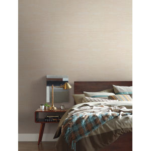 Urban Oasis Beige and Cream Painterly Wallpaper