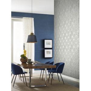 Ronald Redding Tea Garden Gold and White French Marigold Wallpaper