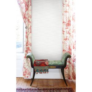 Ronald Redding Tea Garden Gray Kimono Wallpaper
