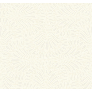 Antonina Vella Deco Off White Cabaret Wallpaper