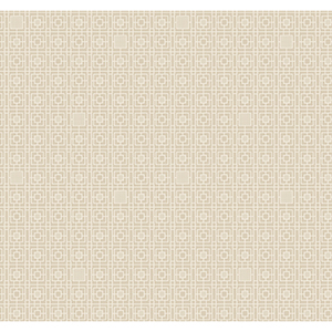 Antonina Vella Deco Beige Deco Screen Wallpaper