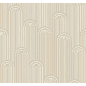 Antonina Vella Deco Off White Speakeasy Wallpaper