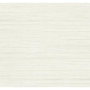 Antonina Vella Deco Off White Ragtime Silk Wallpaper