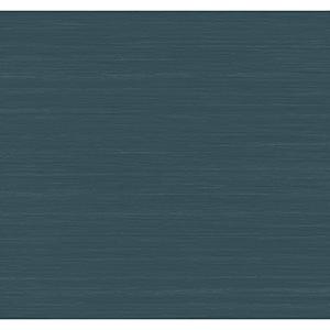 Antonina Vella Deco Blue Ragtime Silk Wallpaper