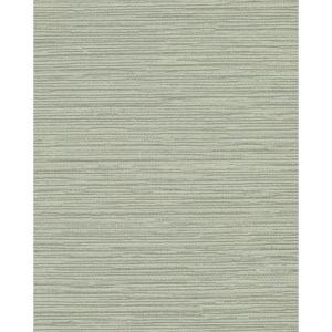 Color Digest Green Ramie Weave Wallpaper