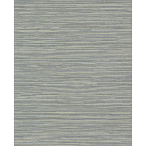 Color Digest Blue Ramie Weave Wallpaper