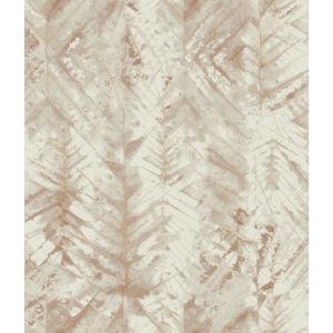 Impressionist Brown Textural Impremere Wallpaper