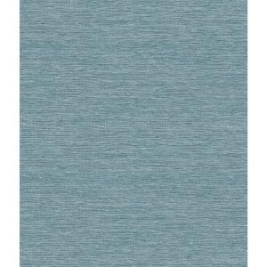 Impressionist Blue Challis Woven Wallpaper