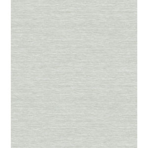 Impressionist Light Grey Challis Woven Wallpaper