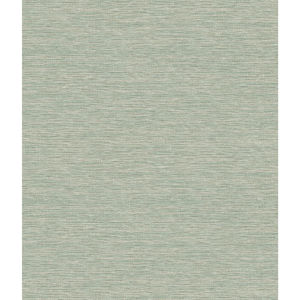 Impressionist Green Challis Woven Wallpaper