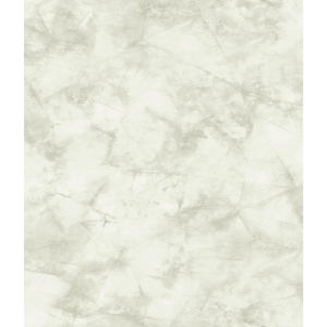 Impressionist White Pressed Petioles Wallpaper