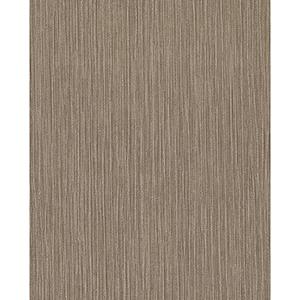Candice Olson Terrain Brown Tuck Stripe Wallpaper