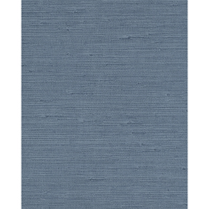 Candice Olson Terrain Blue Pampas Wallpaper
