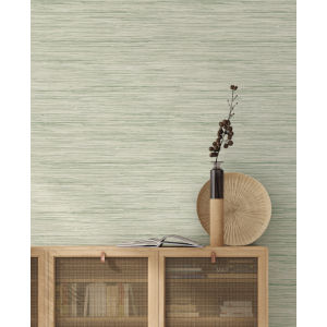 Waters Edge Green Bahiagrass Pre Pasted Wallpaper