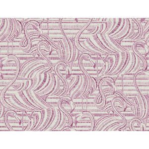 Conservatory Pink Flamingo Flamboyance Wallpaper