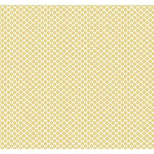 Conservatory Yellow Solarium Geo Wallpaper