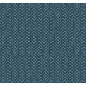 Conservatory Blue Solarium Geo Wallpaper