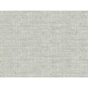 Conservatory Light Gray Papyrus Weave Wallpaper