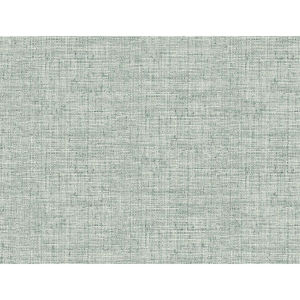 Conservatory Turquoise Papyrus Weave Wallpaper