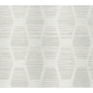 Conservatory Light Gray Congas Stripe Wallpaper