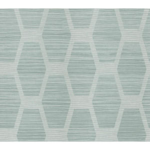 Conservatory Turquoise Congas Stripe Wallpaper