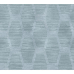 Conservatory Blue Congas Stripe Wallpaper