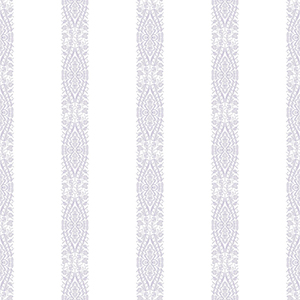 A Perfect World Pearl and Purple Ballerina Stripe Wallpaper
