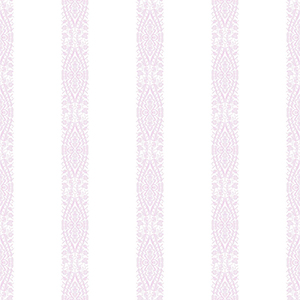 A Perfect World Orchid Ballerina Stripe Wallpaper