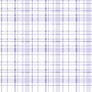 A Perfect World Purple and Silver Polka Dot Plaid Wallpaper