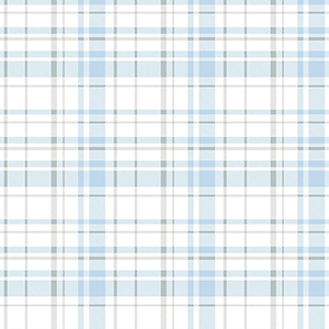 A Perfect World Blue Polka Dot Plaid Wallpaper