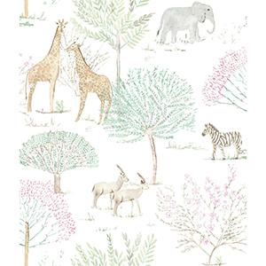 A Perfect World Pastel On The Savanna Wallpaper