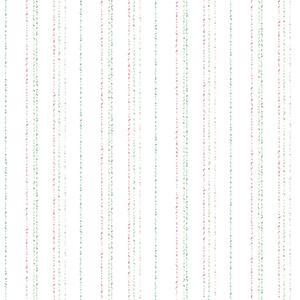 A Perfect World Pastel Dotty Stripe Wallpaper