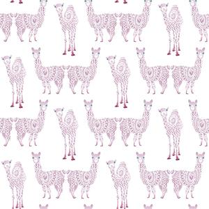 A Perfect World Purple Alpaca Pack Wallpaper