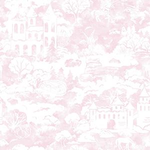A Perfect World Pink Quiet Kingdom Wallpaper