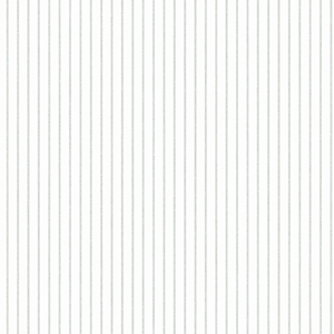 A Perfect World Grey Ticking Stripe Wallpaper