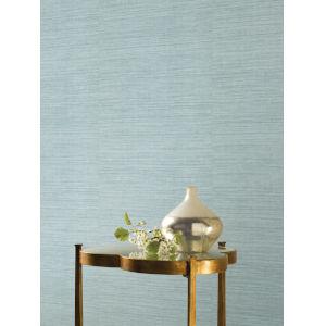Ronald Redding 24 Karat Blue Silk Elegance Wallpaper