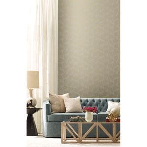 Candice Olson Botanical Dreams Taupe Grandeur Wallpaper