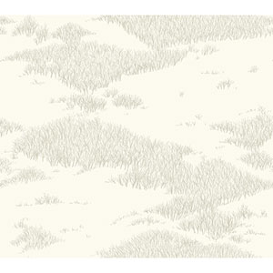 Norlander Off White Tundra Scenic Wallpaper