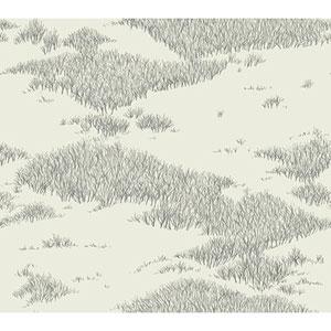 Norlander Off White Tundra Scenic Wallpaper