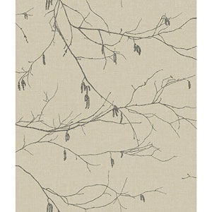 Norlander Beige Winter Branches Wallpaper