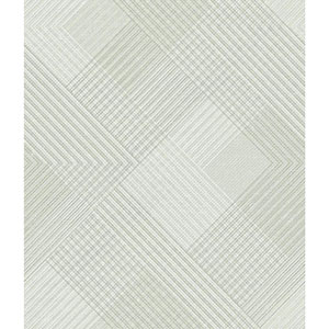 Norlander Off White Scandia Plaid Wallpaper