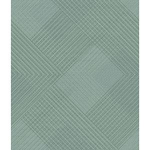 Norlander Blue Scandia Plaid Wallpaper