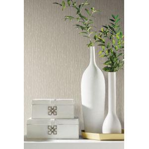 Antonina Vella Elegant Earth Beige Woodland Twigs Botanical Wallpaper