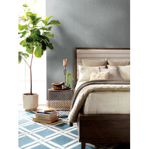 Antonina Vella Elegant Earth Gray Woodland Twigs Botanical Wallpaper