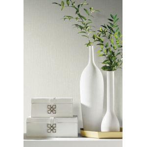 Antonina Vella Elegant Earth Cream White Woodland Twigs Botanical Wallpaper
