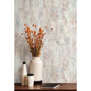 Antonina Vella Elegant Earth Multicolor Gray Concrete Patina Textures Wallpaper