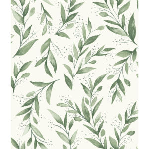 Magnolia Home Olive Grove Branch Peel and Stick Wallpaper