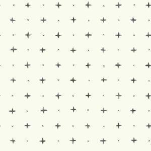 Magnolia Home Black Cross Stitch Peel and Stick Wallpaper