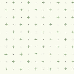 Magnolia Home Green Cross Stitch Peel and Stick Wallpaper
