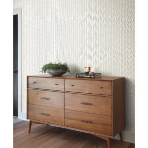 Magnolia Home Black Pick-Up Sticks Peel and Stick Wallpaper